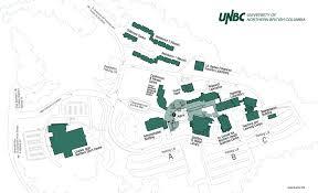 Columbia University Campus Map University Of Northern British Columbia Campus Map 3333