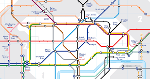 London Subway Map by Stunning Before And After Maps Show London Underground U0027ghost