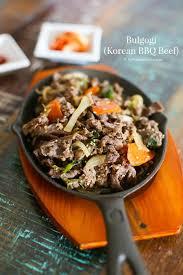 ingredient cuisine bulgogi bbq beef my kitchen