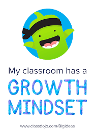 growth mindset sticker for students teachers and classrooms