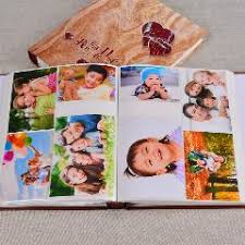 high capacity photo album new quality wood handmade photo album black card paste type