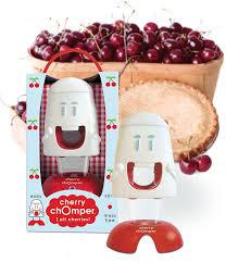 Fun Kitchen Gadgets by Amazon Com Talisman Designs Cherry Chomper Cherry Pitter Kitchen