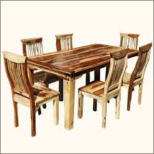 solid dining room tables inspiring worthy wooden dining table sets