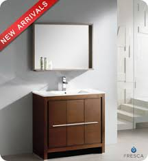 fresca allier 36 quot wenge brown modern bathroom vanity w 36 fresca allier fvn8136wg modern bathroom vanity wenge