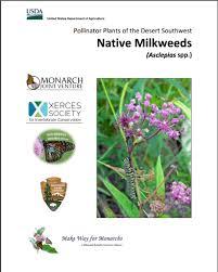 southwest native plants additional resources western monarch milkweed mapper
