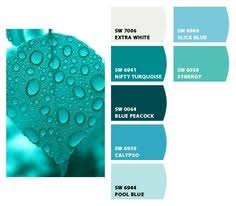turquoise paint chips turquoise would be a great accent color