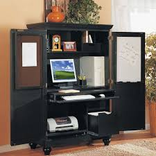 Computer Armoire Desk Cabinet Office Desk Armoire Cabinet How To Organize Your Puter Armoires
