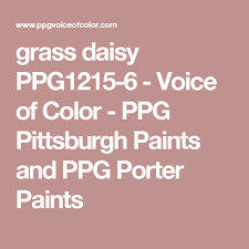 grass daisy ppg1215 6 voice of color ppg pittsburgh paints and