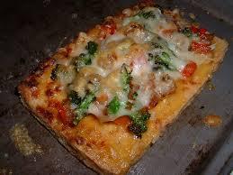 inventer une recette de cuisine ma cuisine pizza tofu aux légumes