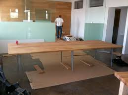 Diy Large Desk Large Table Desk Dansupport