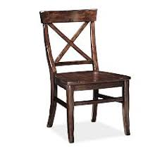 wooden dining chairs pottery barn
