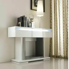 Foyer Table With Drawers Contemporary Console Table With Hidden Storage Tables Drawers