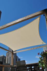 Backyard Shade Sail by Roof Deck Pergola Shade Sail Urban Landscape Garden Design