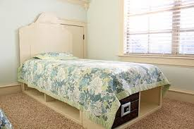 Plans For Twin Platform Bed With Storage by Ana White Twin Storage Captains Bed Diy Projects