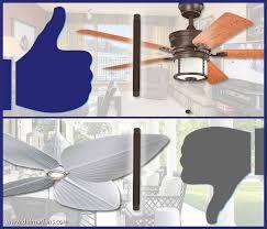 4 inch ceiling fan downrod how to choose the right ceiling fan downrod length del mar fans