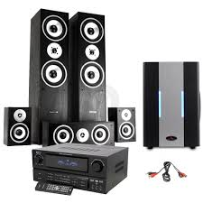 home theater subwoofer amp 5 1 hifi surround sound system tower speakers subwoofer amp home
