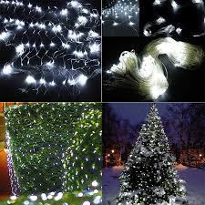 aliexpress com buy 3m x2m 210 led fairy string xmas tree mesh