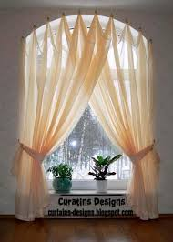 Curtain Swag Hooks Arched Window Drapery Ideas Arched Windows Curtains On Hooks