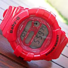 Jam Tangan Baby G Warna Merah casio g shock kw baby g bgd 140 kw