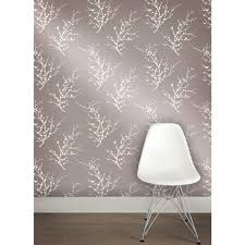 wall decor wonderful tempaper wallpaper edie champagne in gray