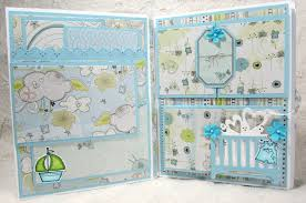 baby boy photo album thetara148 baby boy mini album and tutorial