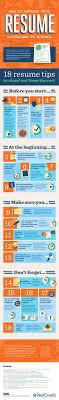 18 ways to improve your resume infographic 5 easy ways to improve your management resume