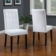white leather dining room chairs white leather dining room