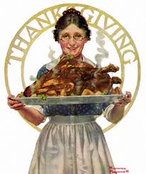 the of thanksgiving by norman rockwell dailyartdaily