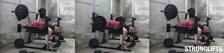 How Much Does Bench Bar Weigh How To Bench Press Safely Without Spotter Stronglifts