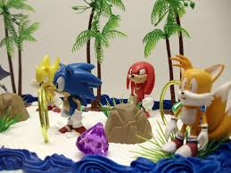 sonic the hedgehog cake topper 12 classic sonic the hedgehog cake topper set featuring 4