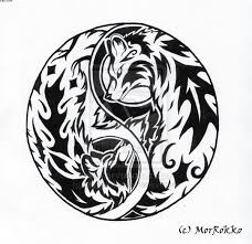 collection of 25 ying yang wolf sle