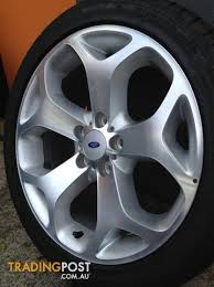 ford rims ford fg xr8 18inch genuine alloy wheels tyres for sale in