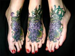 grape tattoos tattoo tatting and food tattoos