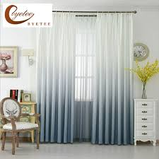 Blackout Door Curtains Byetee Modern American Linen Kitchen Curtains For Finished Korean