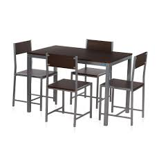 buy nilkamal wigo 1 4 dining set walnut online at home