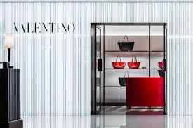Boutique Shop Design Interior Valentino Retail Design Blog