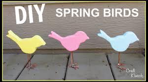 Rivers Edge Home Decor by How To Make A Spring Bird Home Decor Diy Youtube