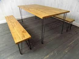 Handmade Kitchen Table The 25 Best Hairpin Leg Dining Table Ideas On Pinterest Diy