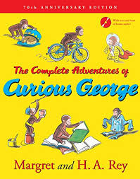 complete adventures curious george 70th anniversary