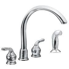 moen kitchen faucet assembly faucet 7786 in chrome by moen