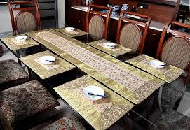 table runner placemat set lal haveli