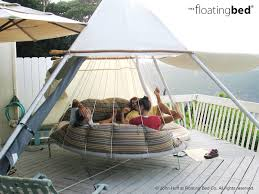 outdoor floating bed hanging bed photo gallery the floating bed co