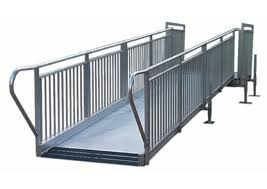 Handicap Handrail Ada Ramps For Stages Ada Ramps Staging Dimensions