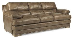 leather sofa with nailheads dylan flexsteel com