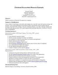 Sample Resume General by Example Of Accountant Resume