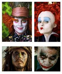 paintertainment dramatic celebrity face paint ideas for halloween