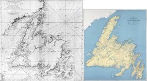 Newfoundland Map Captain James Cook U0027s Map Of Newfoundland 1775 1500 X 1474