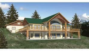 hillside home plans hillside house plans with walkout basement home plans with walkout