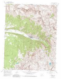 Dolores Colorado Map by Telluride Topographic Map Co Usgs Topo Quad 37107h7