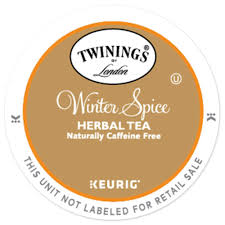 Decaf Pumpkin Spice Latte K Cups by Twinings Winter Spice Tea K Cup Pods 12ct Coffeeicon